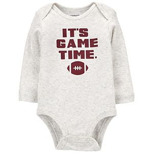 Baby Boy Carter's It's Game Time Football Original Bodysuit
