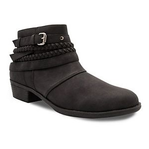 sugar Tik Tock Strappy Women's Ankle Boots