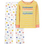 Girls 4-14 Carter's 2-Piece Fleece Snug-Fit Pajama Set