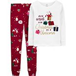Girls 4-14 Carter's 2-Piece Snug Fit Cotton Pajama Set