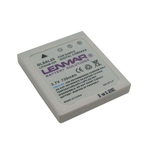 Lenmar Sanyo Digital Camera DLSAL20 Lithium-Ion Replacement Battery