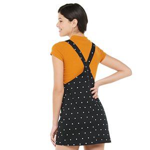 Juniors' SO® Patch-Pocket Pinafore Dress