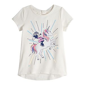 Disney's Minnie Mouse Girls 4-12 Bow-Back Tee by Jumping Beans®