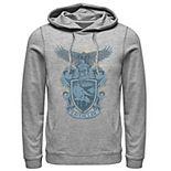 Men's Harry Potter House Ravenclaw Detailed Crest Hoodie