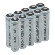 Lenmar 10-pk. PRO1025 Nickel-Metal Hydride AA Rechargeable Batteries