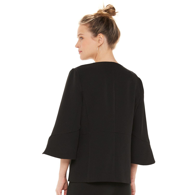 Women's ELLE™ Cascade-Sleeve Blazer
