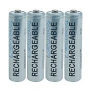 Lenmar 4-pk. PRO410B Nickel-Metal Hydride AAA Rechargeable Batteries