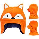 Baby Boy Carter's 2-Piece Fox Hat & Mitten Set