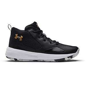 Under Armour Lockdown 5 Grade School Kids' Basketball Shoes