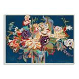 Stupell Home Decor Abstract Bright Flower Plaque Wall Art
