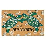 Liora Manne Natura Sea Turtle Outdoor Welcome Mat