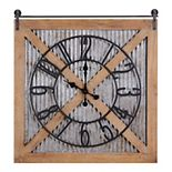 FirsTime Fieldhaven Barn Door Clock