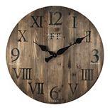 FirsTime Rustic Farmhouse Wall Clock