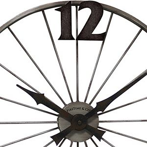 FirsTime Bicycle Wheel Wall Clock