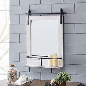 FirsTime Ivywood Barn Door Wall Mirror