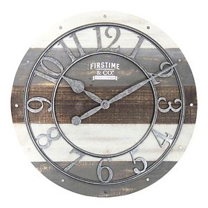 FirsTime Shabby Chic Wall Clock