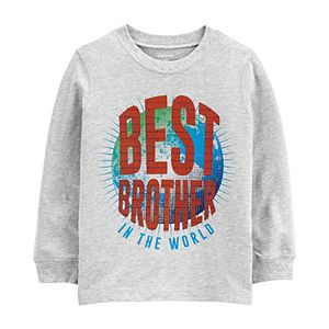 Baby Boy Carter's Best Brother In The World Jersey Tee