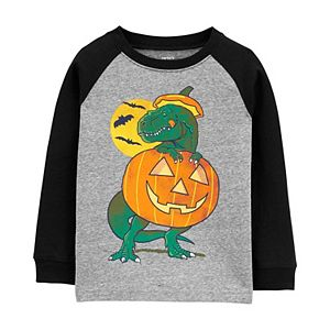 Baby Boy Carter's Halloween Dinosaur Glow-in-the-Dark Tee