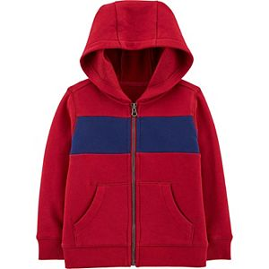 Baby Boy Carter's Zip-Up Fleece Hoodie