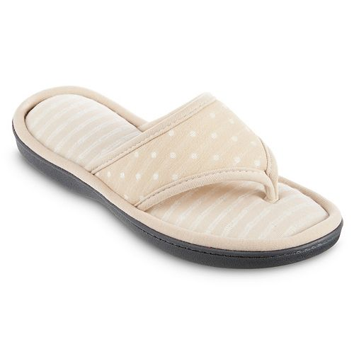 Women's isotoner Dot Ada Thong Slippers