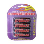 Lenmar 8-pk. PRO827 Nickel-Metal Hydride AA Rechargeable Batteries