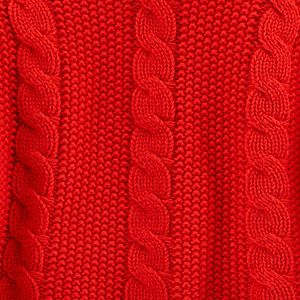 Toddler Girl Carter's Cable Knit Poncho