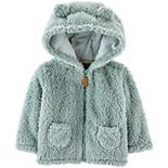 Baby Carter's Hooded Sherpa Jacket