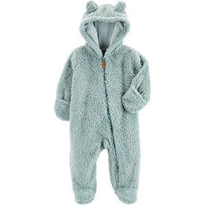 Baby Carter's Hooded Sherpa Pram