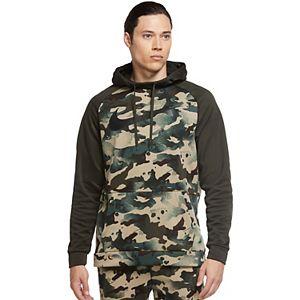 Big & Tall Nike Therma Pullover Camo Training Hoodie