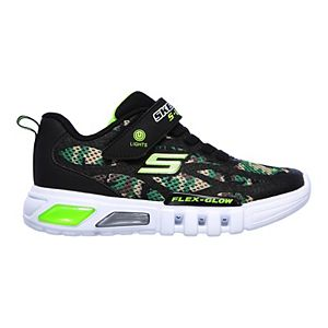 Skechers S Lights Flex Glow Boys' Light Up Shoes