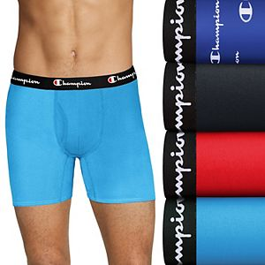 Men's Champion 4-pack Everyday Active Stretch Boxer Briefs