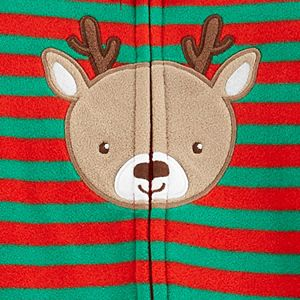 Baby Carter's Reindeer Fleece Sleep & Play