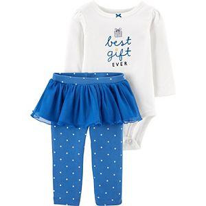 Baby Girl Carter's 2-Piece Hanukkah Tutu Pant Set