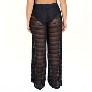Women's Jordan Taylor Beachwear Sheer Pull-On Pants