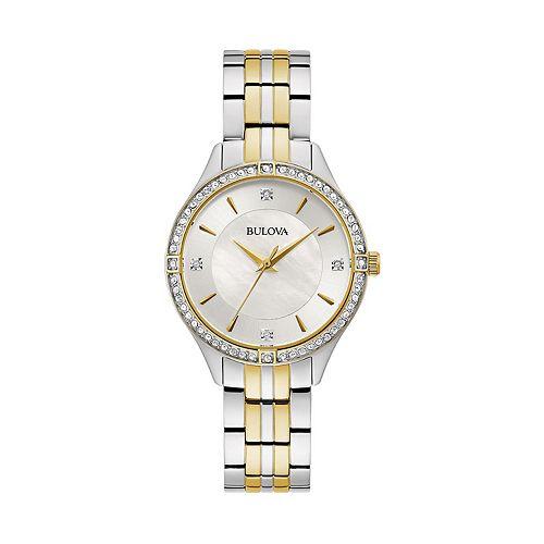 Bulova Women's Crystal Accent Watch - 98L273