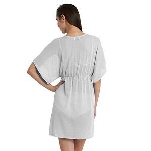 Women's Jordan Taylor Beachwear Empire-Waist Dress Cover Up