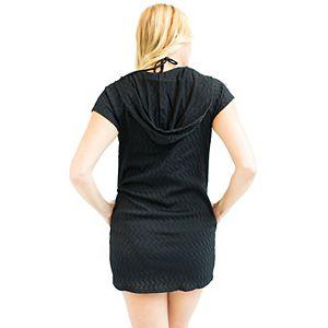 Women's Jordan Taylor Beachwear Zip-Up Hooded Cover Up