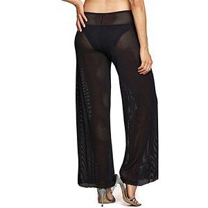 Women's Jordan Taylor Sheer Wide-Leg Cover Up Pants