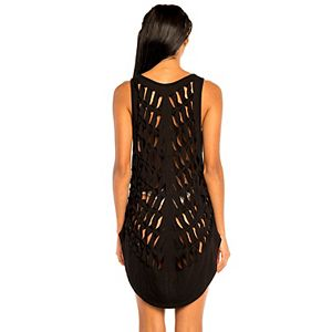 Women's Jordan Taylor Beachwear Cutout Sleeveless Cover Up