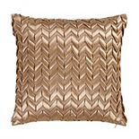 Donna Sharp Texas Brown Ribbon Throw Pillow