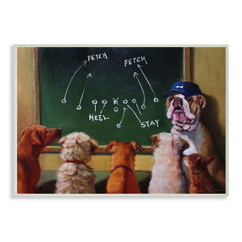 Stupell Home Decor Dog New Tricks Plaque Wall Art. Multicolor. 12.5X18.5