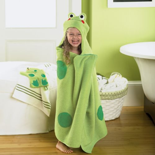 Jumping Beans® Frog Bath Wrap
