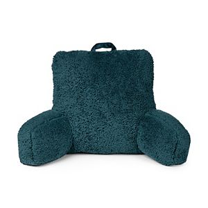 The Big One Gold Teddy Bear Sherpa Backrest Pillow