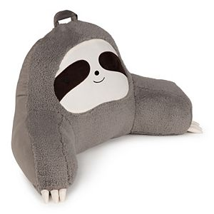 The Big One Gray Sloth Backrest Pillow