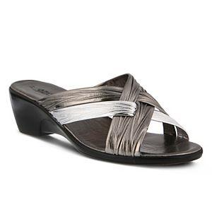Patrizia Apricot Women's Slide Sandals