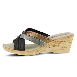 Patrizia Apple Women's Slide Sandals