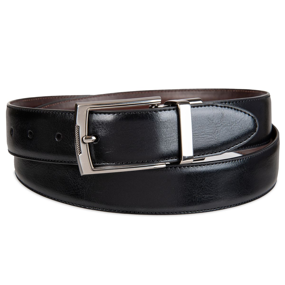 Croft & Barrow Men's Big & Tall Reversible Dress Belt