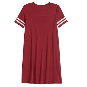 Girls 7-20 & Plus Size SO® Varsity T-Shirt Dress