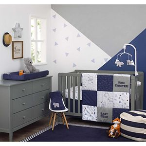 Boys Carter's Explore Baby Bear 4 Piece Crib Bedding Set
