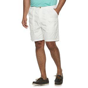 Big & Tall Croft & Barrow Twill Cargo Shorts